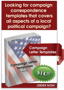 Political Campaign Letter Templates