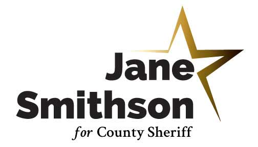 Sheriff Logo – Gold Star Theme
