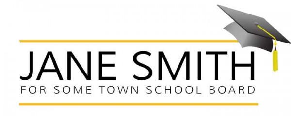School Board Logo - Mortar Board Theme