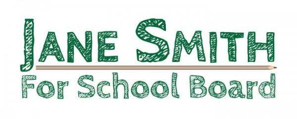 School Board Logo - Pencil Theme