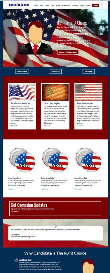 wordpress-campaign-websites