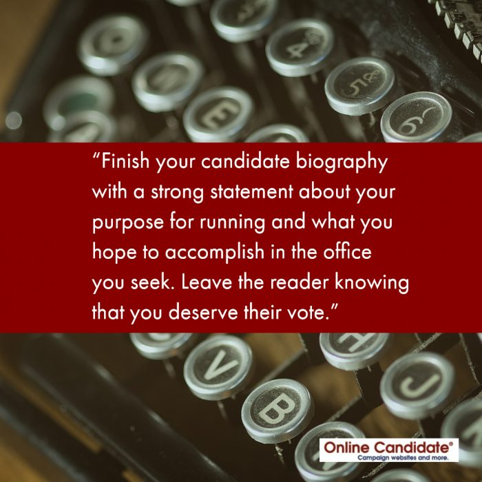 How to write a campaign profile top critical thinking writer site usa