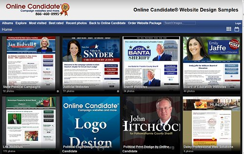 We've Updated Our Campaign Website Design Gallery