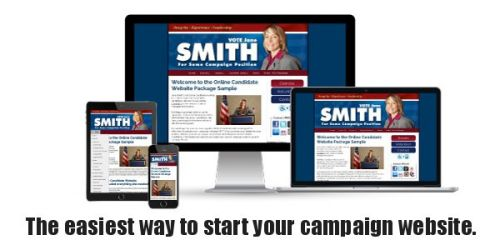 Campaign Website Design