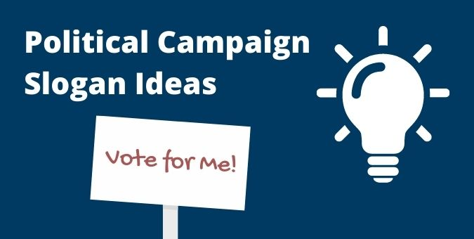 Running for Office? Try These Political Campaign Slogan Ideas
