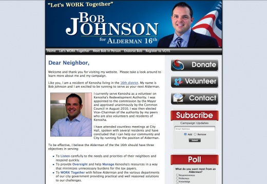 Bob Johnson for Alderman - 16th District
