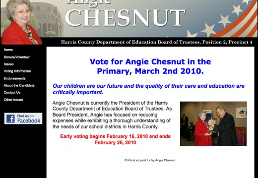 Angie Chesnut - Harris County Department of Education Board of