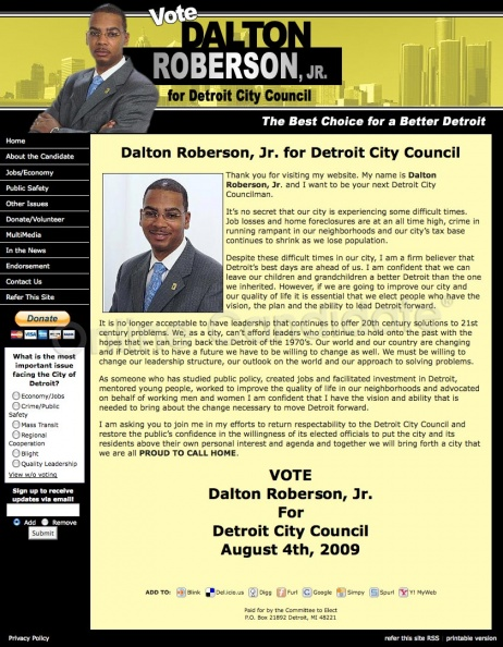 Dalton Roberson - Detroit City Council Election.jpg