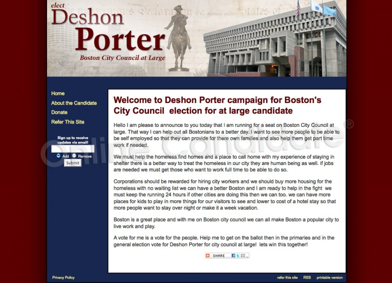 Deshon Porter campaign for Boston City Council.jpg