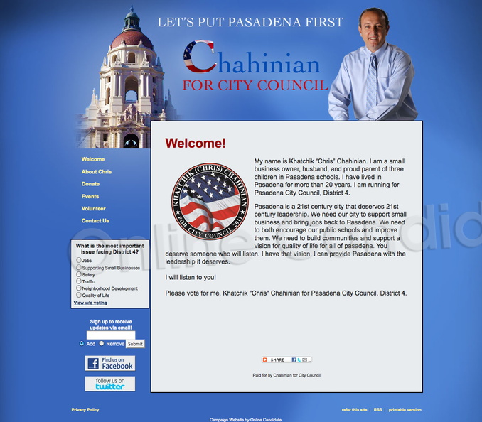 Khatchik Chris Chahinian for Pasadena City Council Campaign Website.jpg