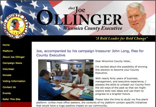Joe Ollinger - Wicomico County Executive Election