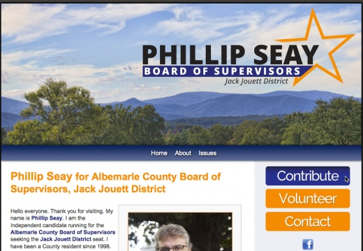 Phillip Seay for Albemarle County Board of Supervisors