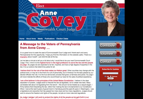 Anne Covey for Commonwealth Court Judge