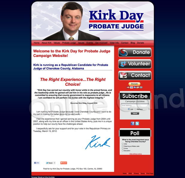 Kirk Day for Probate Judge of Cherokee County, Alabama.png