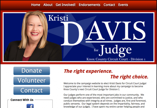 Kristi Davis for Knox County, Tennessee Circuit Court Judge, Division