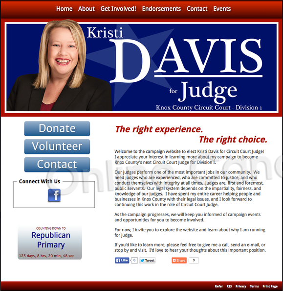 Kristi Davis for Knox County, Tennessee Circuit Court Judge, Division.png