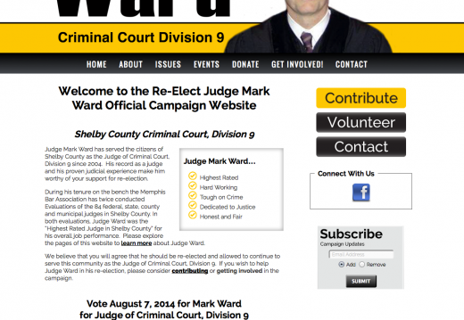 Mark Ward for Judge of Criminal Court, Division 9