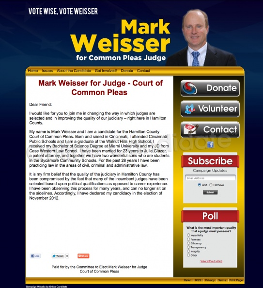 Mark Weisser for Hamilton County Court of Common Pleas.jpg