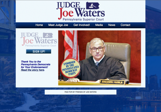 Re-Elect Judge Joe Waters for Pennsylvania Superior Court
