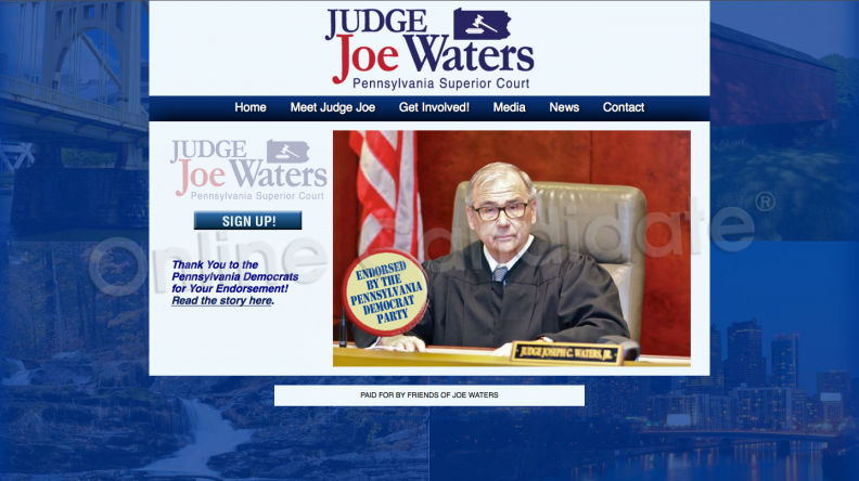Re-Elect Judge Joe Waters for Pennsylvania Superior Court.png