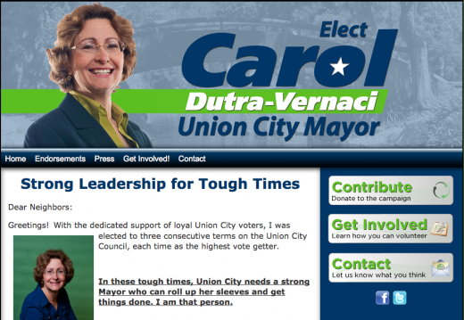 Carol Dutra-Vernaci for Union City Mayor