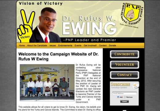 Dr Rufus W Ewing for PNP Leader and Primer