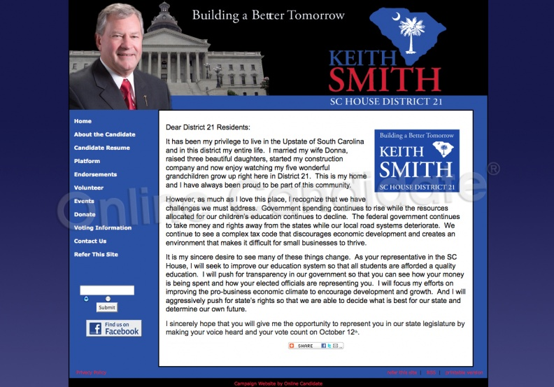 Kevin Smith for South Carolina House of Representatives - District.jpg