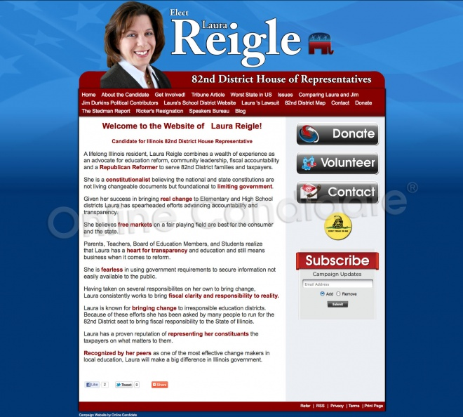 Laura Reigle for Illinois State Representative - 82nd District.jpg