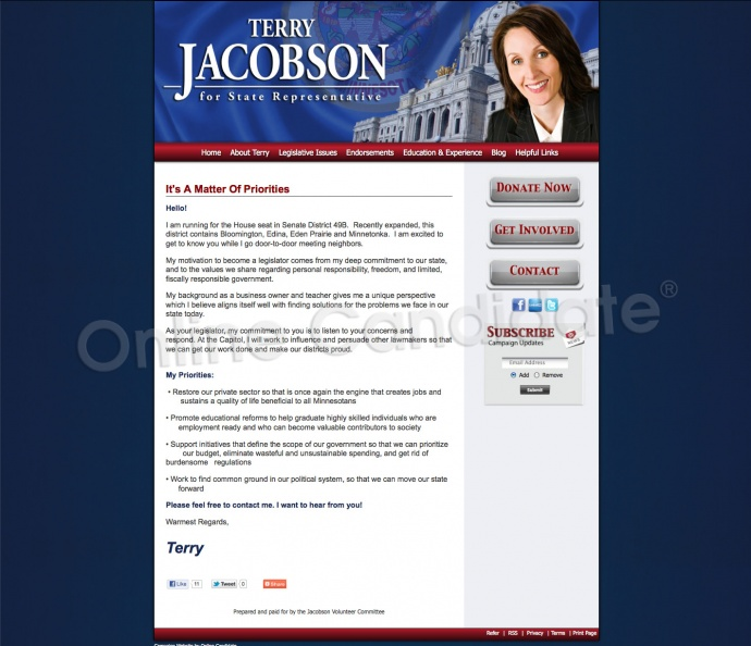 Terry Jacobson for Minnesota Senate District 49B.jpg