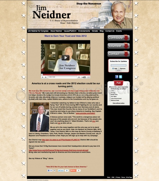 Jim Neidner US House of Representatives - Texas\' 36th District.jpg