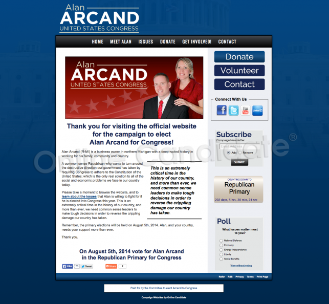 Alan Arcand for Congress.png