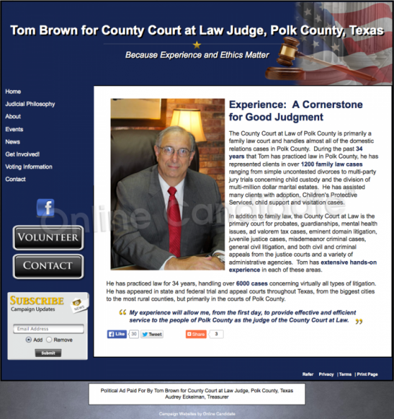 Tom Brown for County Court at Law Judge, Polk County,_11954939435_o.png