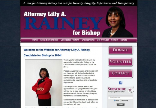 Lilly Rainey for Bishop