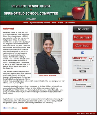 Denise M Hurst for Springfield School Committee At Large