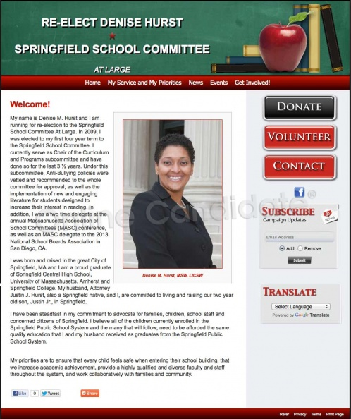 Denise M Hurst for Springfield School Committee At Large_9735196113_o.jpg