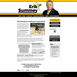 Erik Summey for Henderson County Sheriff