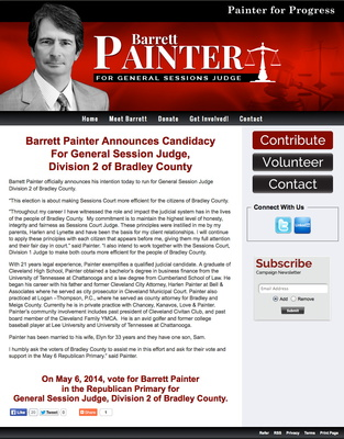 Barrett Painter For General Session Judge, Division