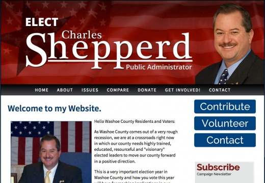Charles Shepperd for Washoe County Public Administrator