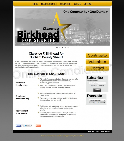 Clarence F Birkhead for Durham County Sheriff.jpg