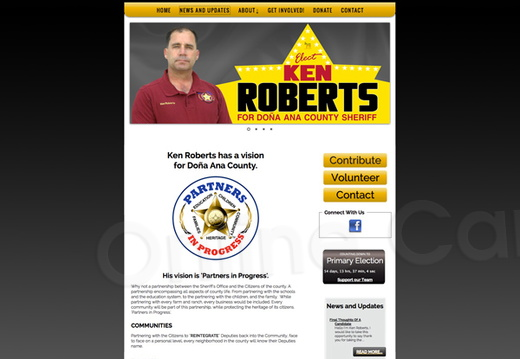 Ken Roberts for Doña Ana County Sheriff