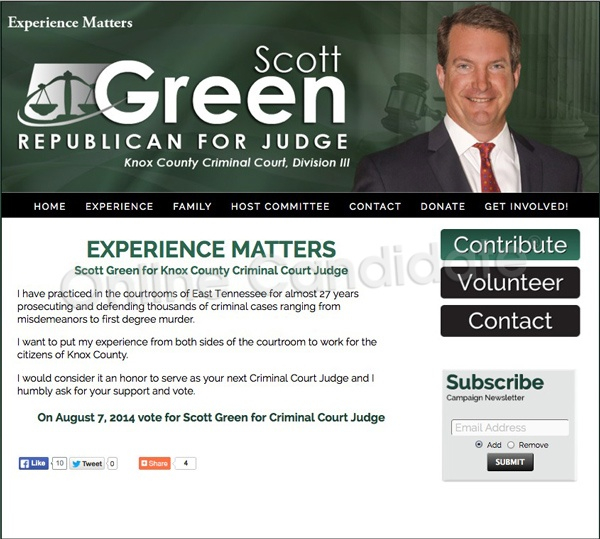 Scott Green for Knox County Criminal Court Judge