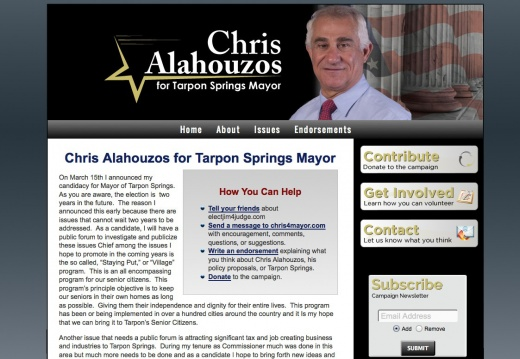 Chris Alahouzos for Mayor