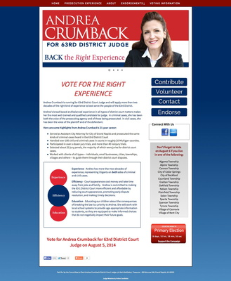 Andrea Crumback for 63rd District Court Judge