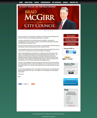 Brad McGirr for Rancho Santa Margarita City Council