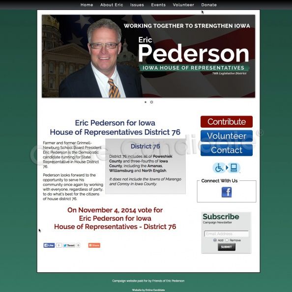 Eric Pederson for Iowa House of Representatives District 76.jpg