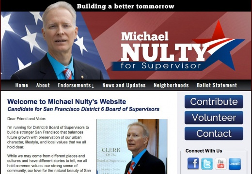 Michael Nulty for San Francisco District 6 Board of Supervisors