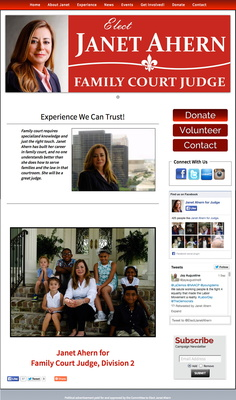 Janet Ahern for Family Court Judge Division 2