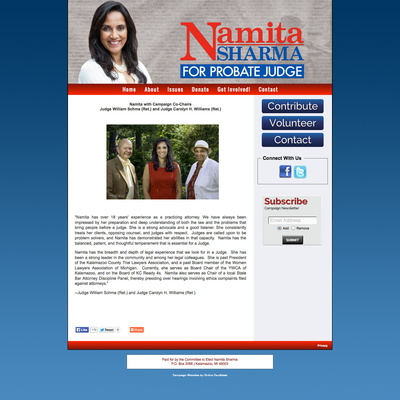 Namita Sharma for Kalamazoo County Probate Court