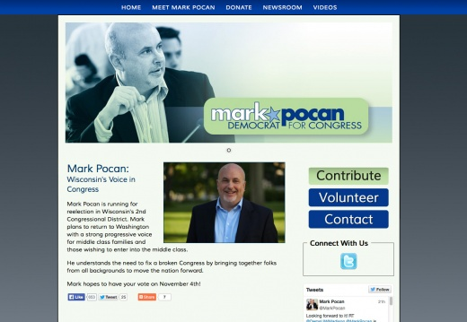 Mark Pocan for US House of Representatives