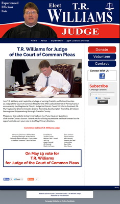 T.R. Williams for Court of Common Pleas Judge